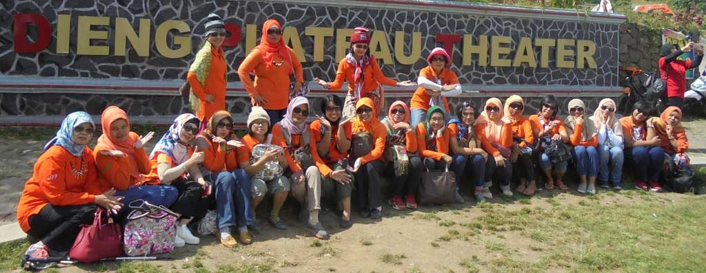 Paket Family Gathering Dieng